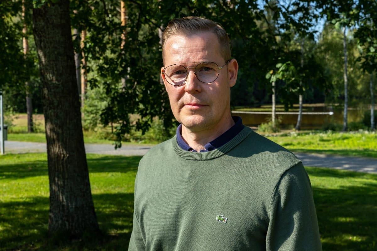 Pirkkalan kunnan kansliapäällikkö Jaakko Joensuu