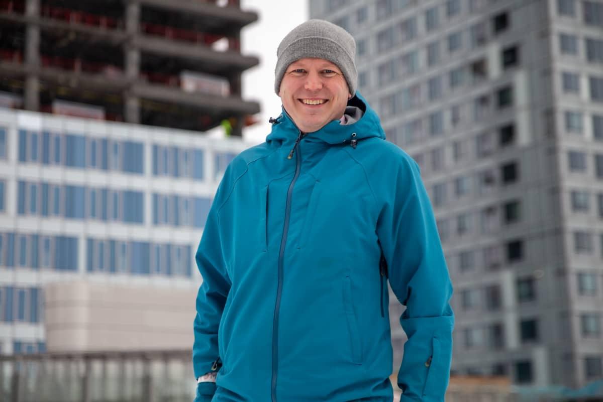 Kerkko Vanhanen, ohjelmajohtaja, Fiksu Kalasatama, PK