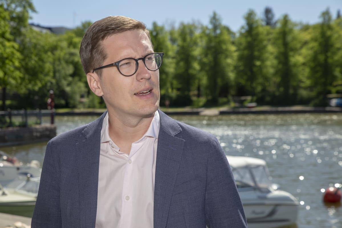 SAK.n pääekonomisti Ilkka Kaukoranta.