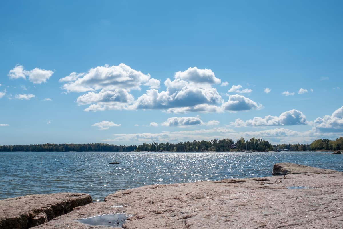 Merimaisema Haukilahden rannassa, Espoossa.
