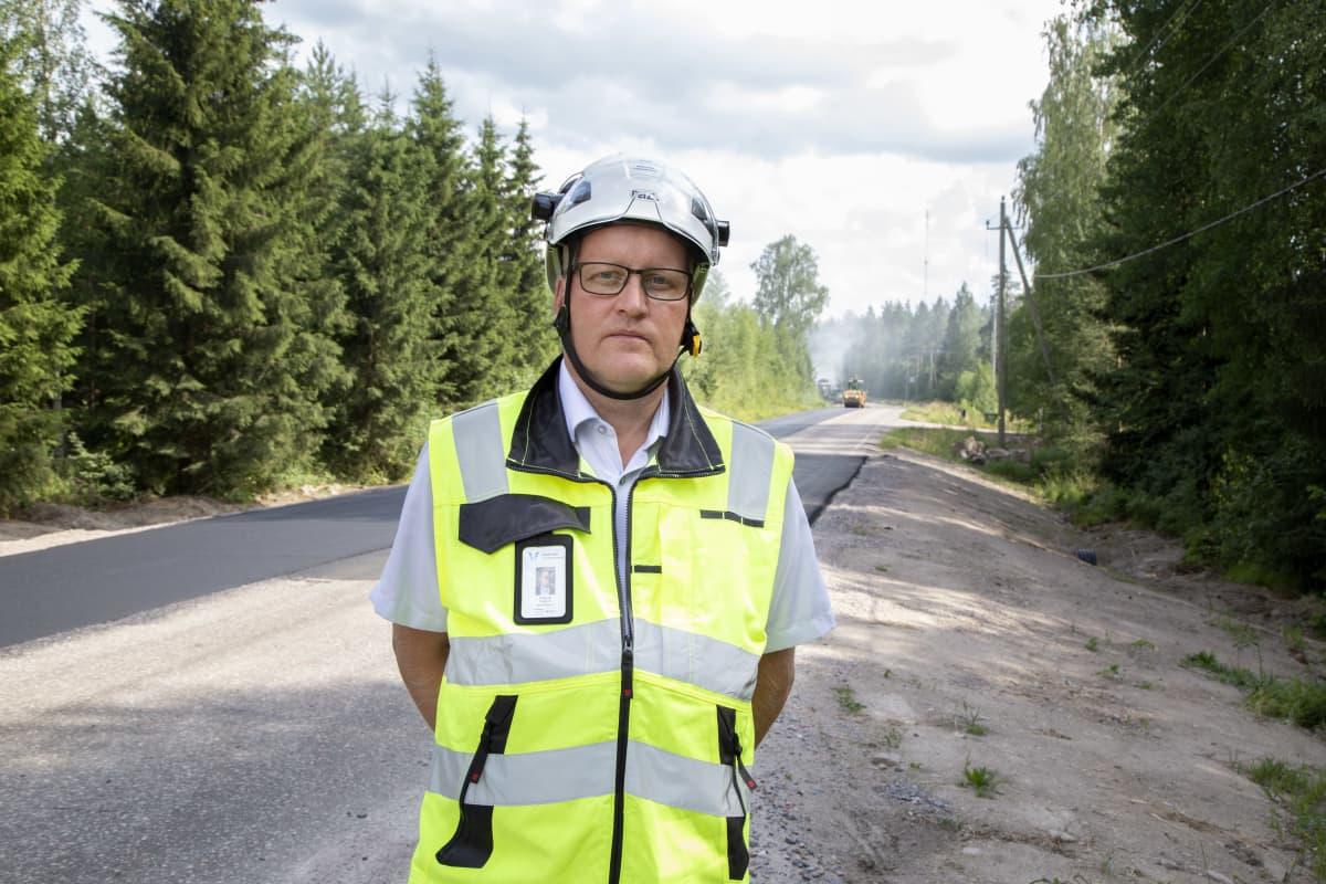Osastonjohtaja Magnus Nygård, Väylävirasto.