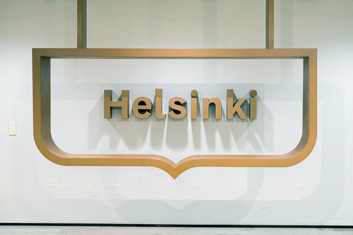 Helsingin kaupungin tunnus.