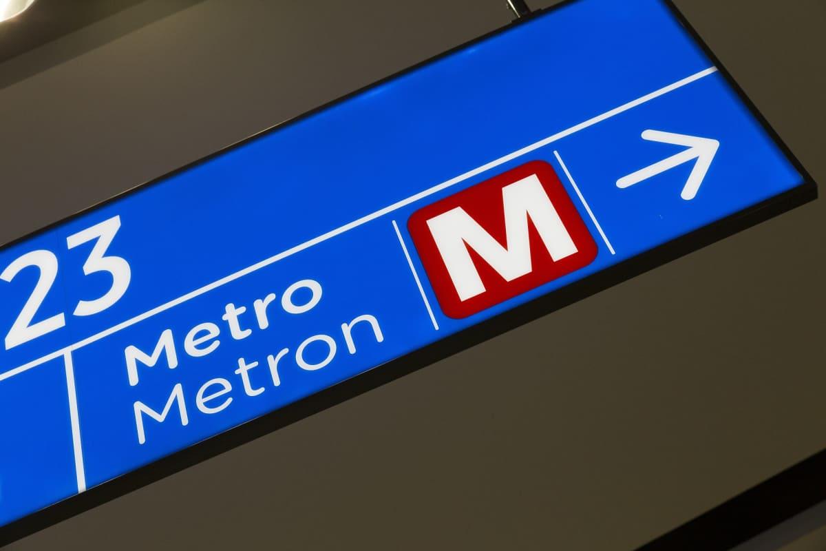 Metrokyltti Matinkylässä