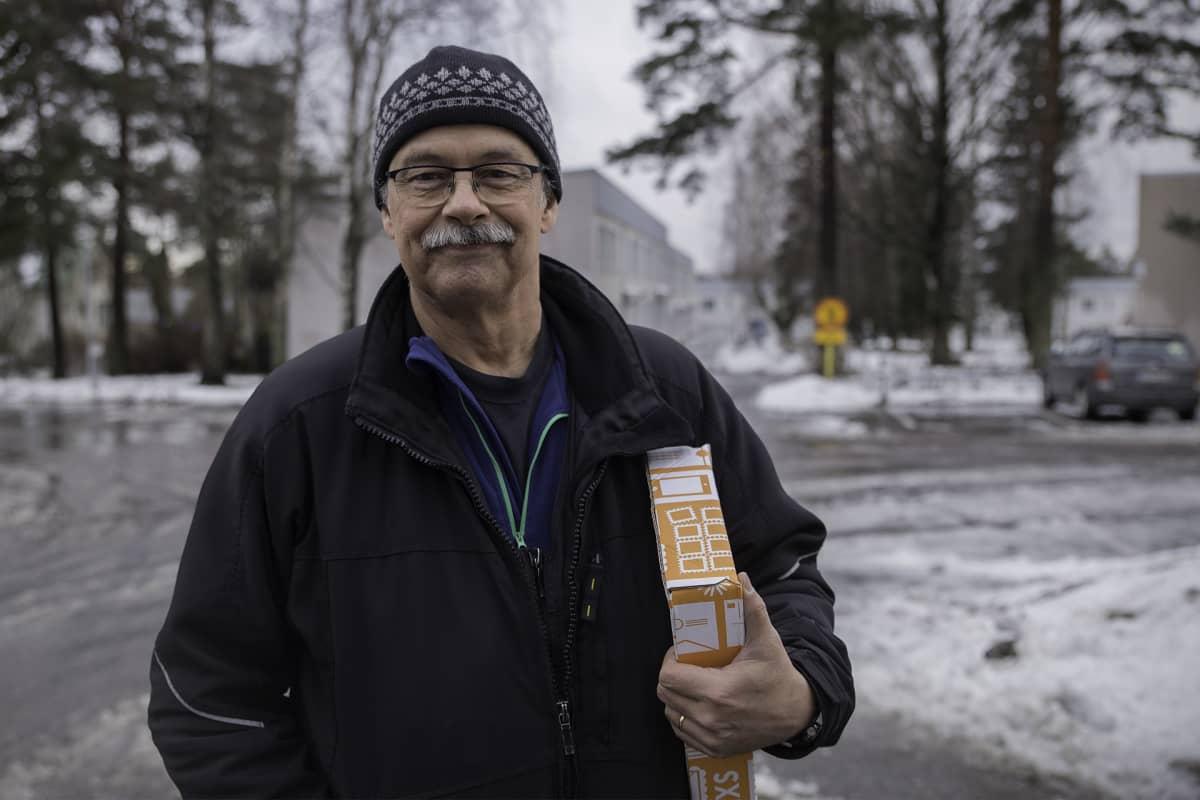 Jarmo Kujanpää, kiinteistöhoitaja, Heka Koillinen Oy.