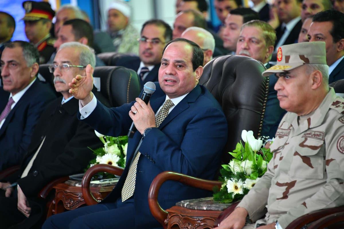 Egyptin presidentti