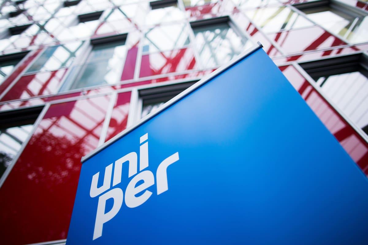Uniper logo.