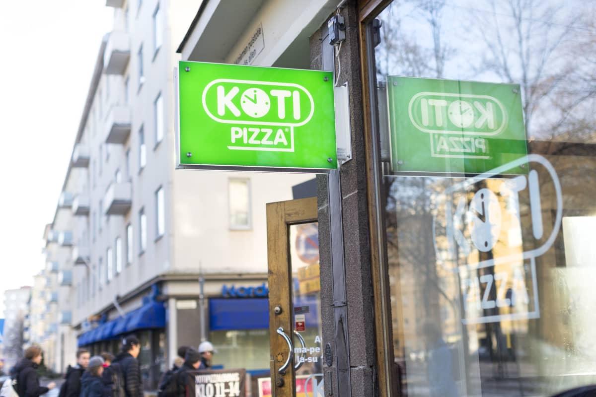 Kotipizzan valomainos