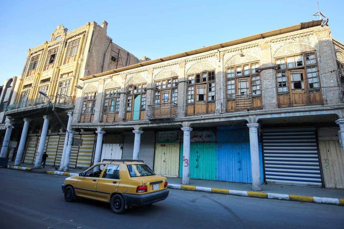 Rasheedkatu Bagdadissa on kaupungin vanhimpia katuja.