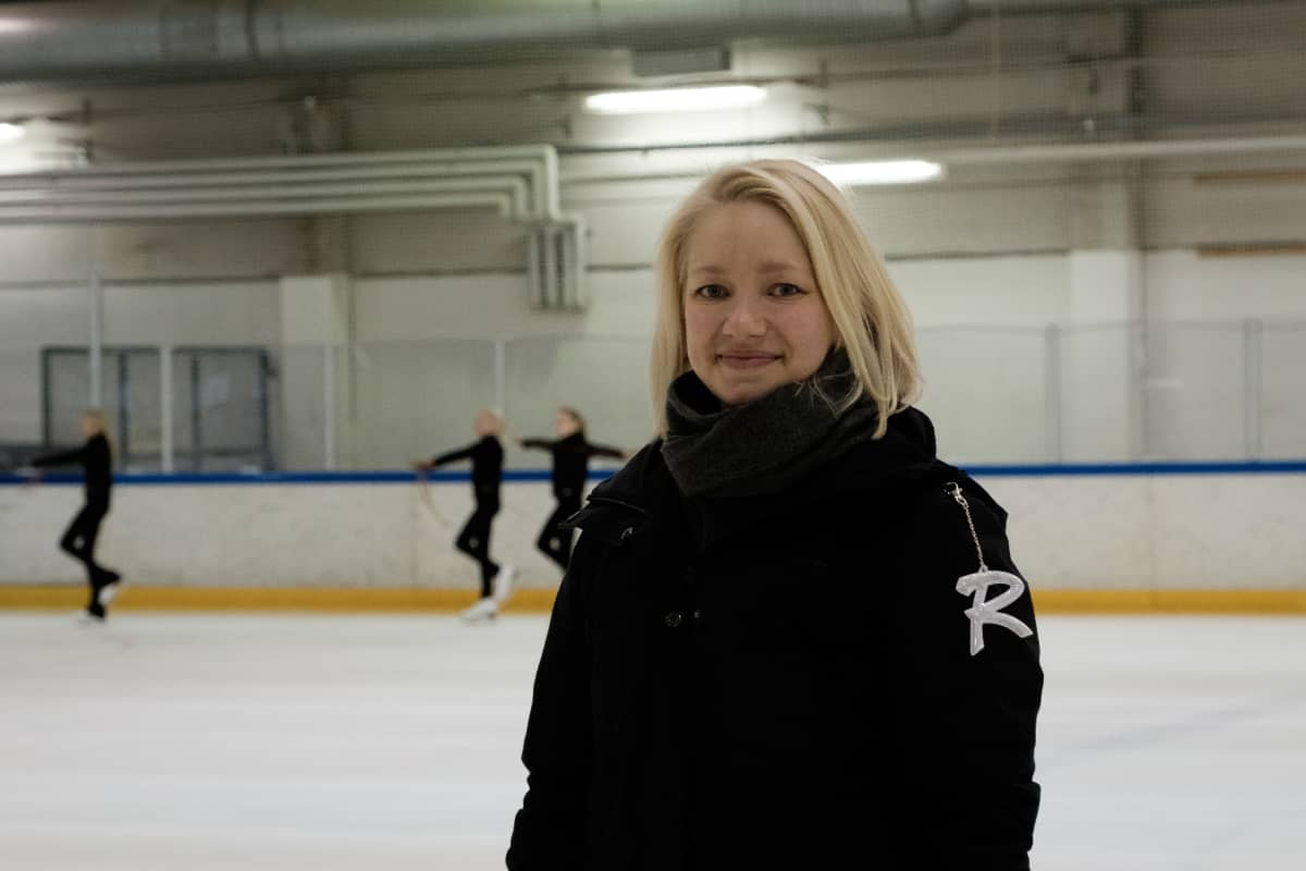 Valmentaja Milja Sarkkinen