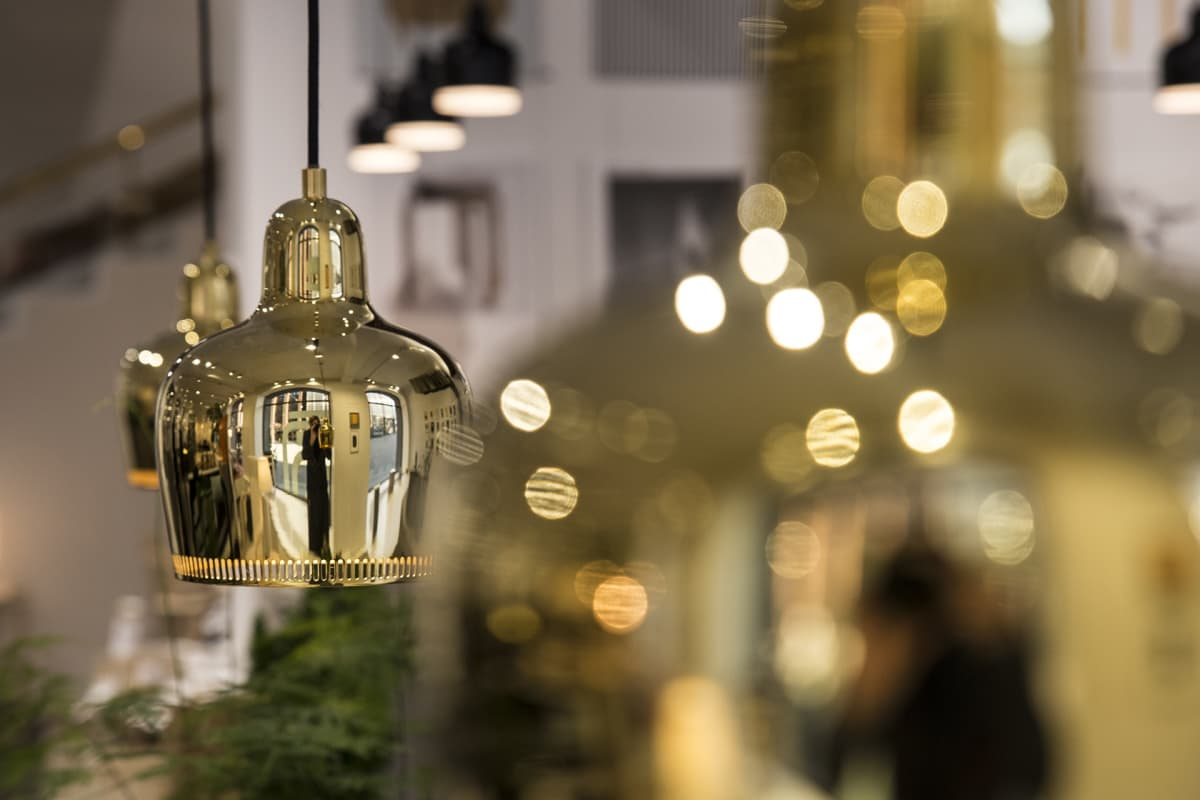 Artek, lamppuja, Alvar Aalto