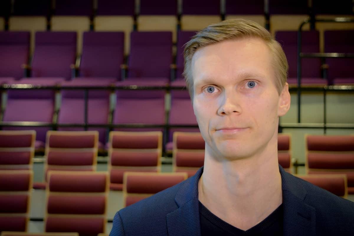 Toni Puurtinen, projektipäällikkö, Lahden museot
