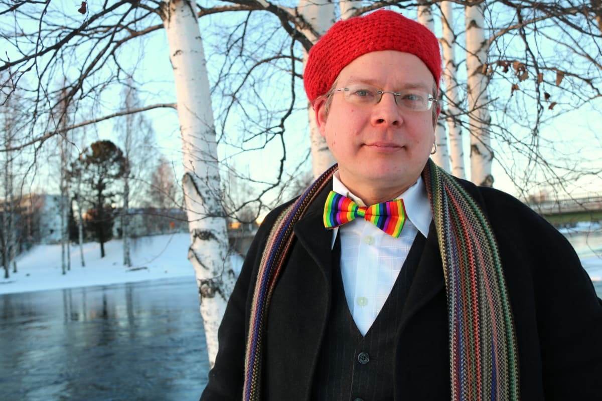 Pohjois-Karjalan Setan puheenjohtaja Jussi Hermaja