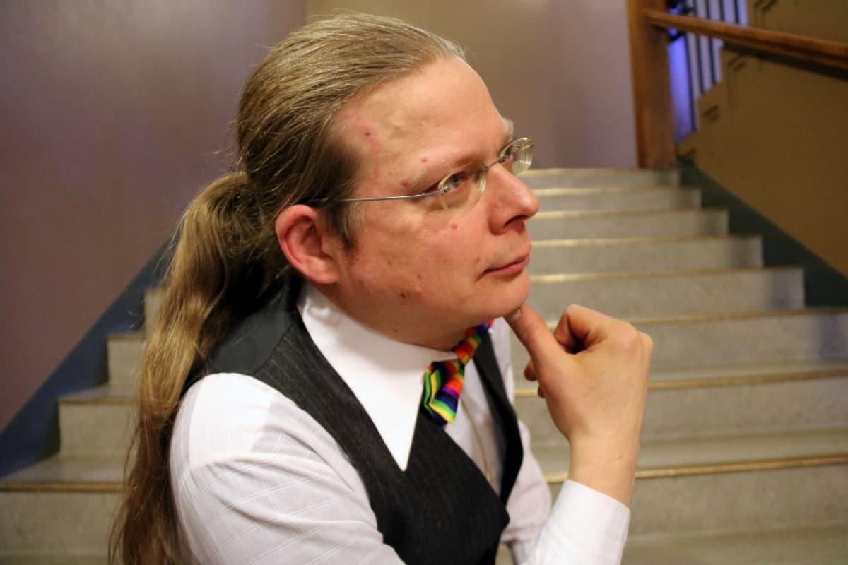 Pohjois-Karjalan Setan puheenjohtaja Jussi Hermaja profiilikuvassa.
