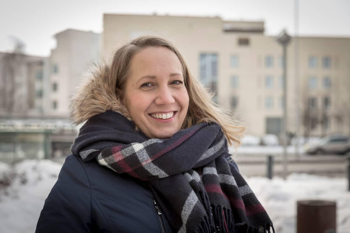 Vapaaehtoistyön koordinaattori Suvi Korenius, HelsinkiMissiosta.