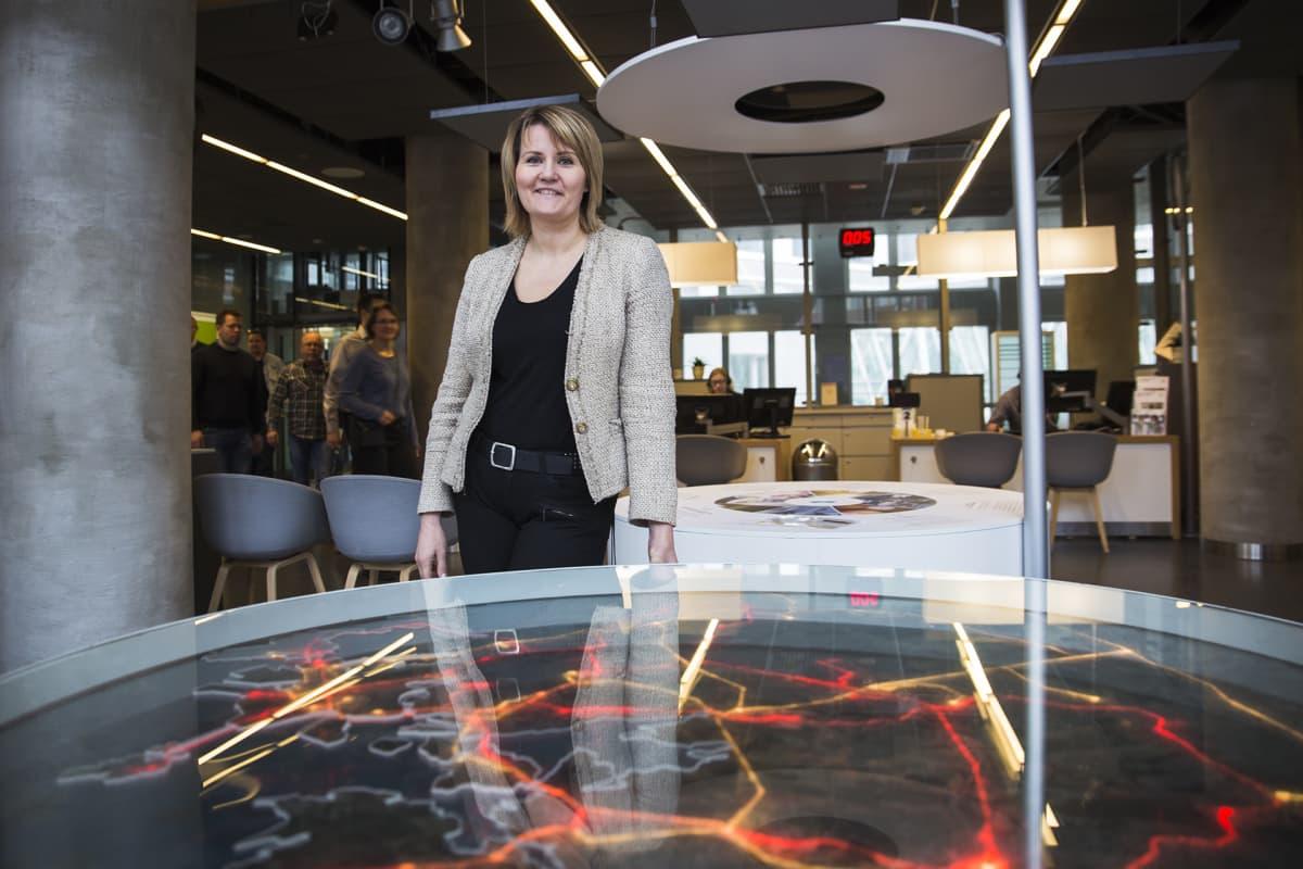 Maiju Westergren, johtaja, Vastuullisuus ja yhteiskuntasuhteet, Helen