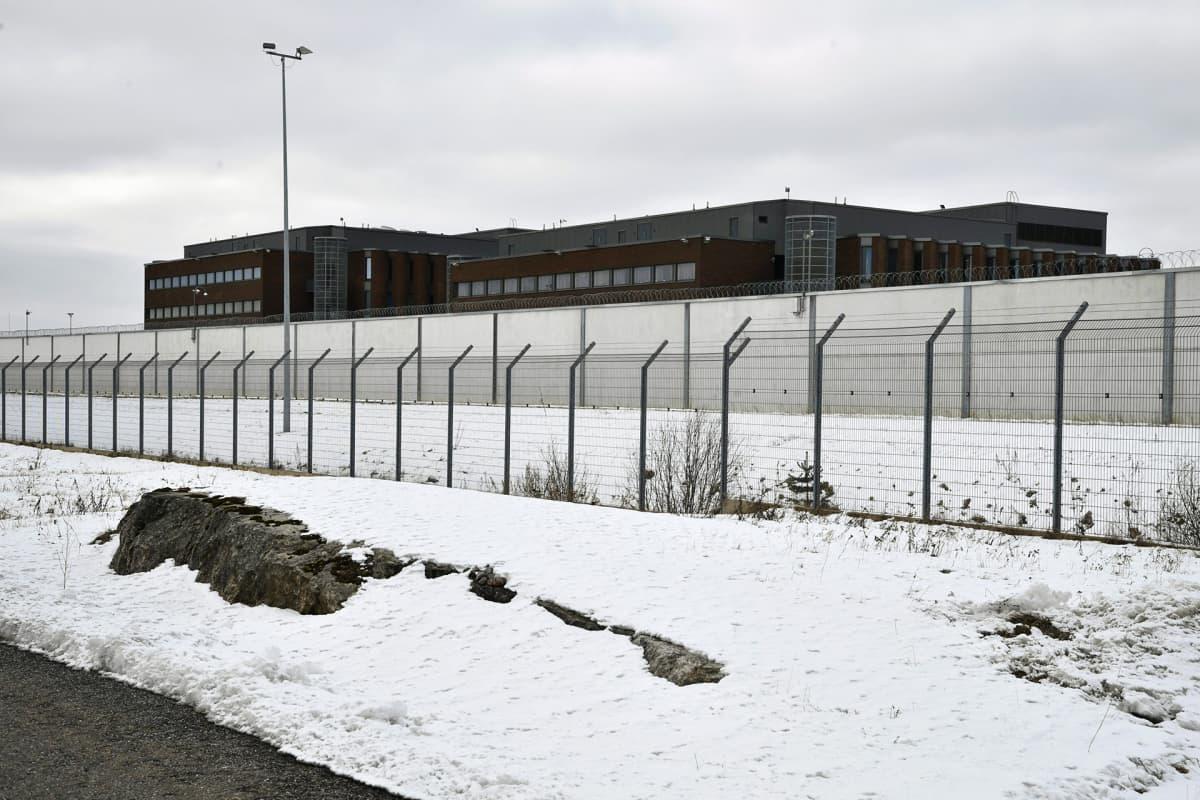 Saramäen vankila Turussa tiistaina 20. maaliskuuta 2018.