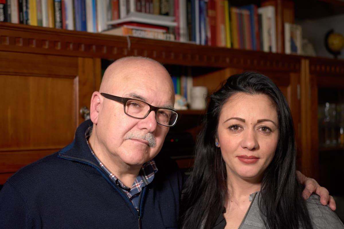 Enzo Tosti ja Marzia Cacciopoli