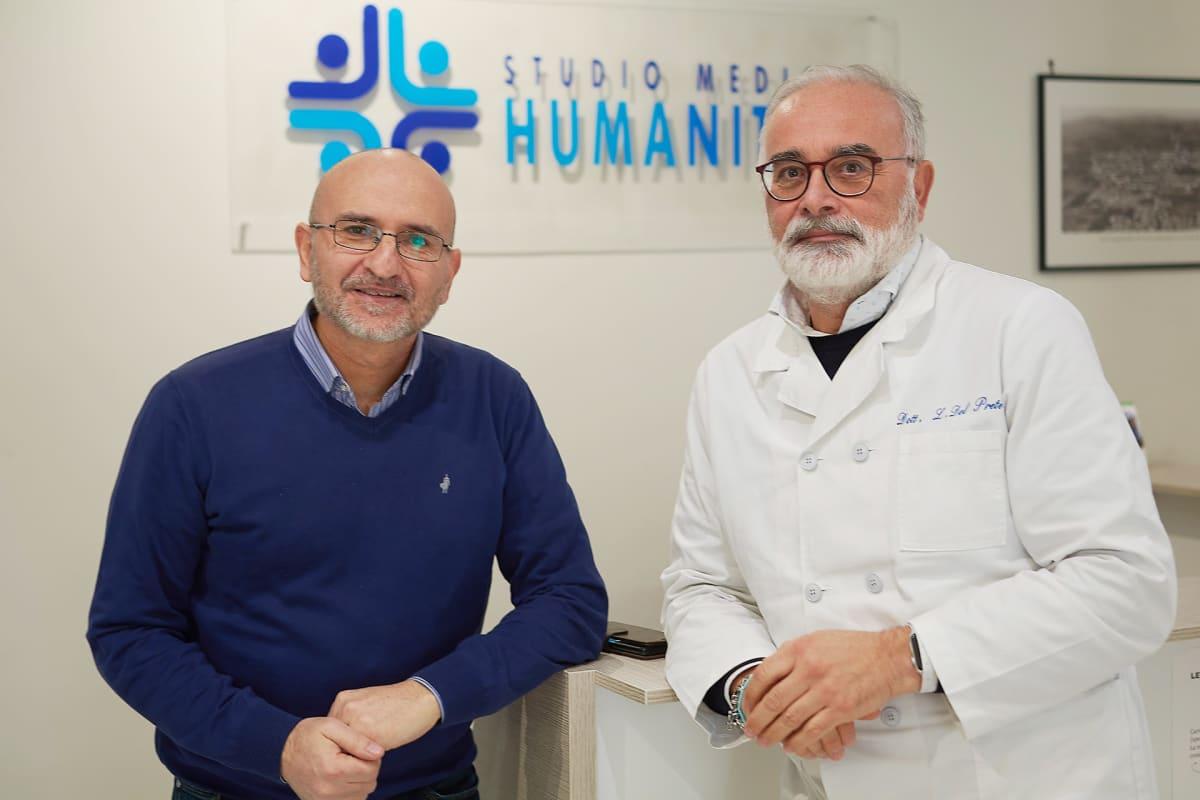 Lääkärit Luigi Costanzo ja Lorenzo del Prete