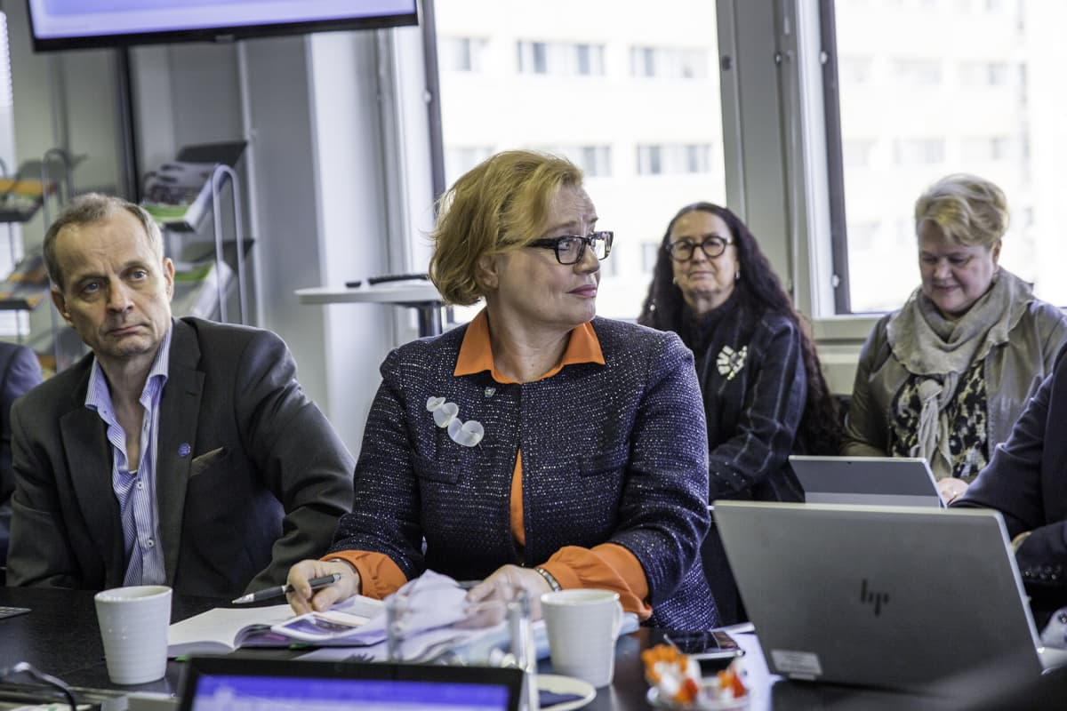 Vantaan kaupunginjohtaja Ritva viljanen Uudenmaan kuntien kaupunginjohtajat sote kokouksessa Uudenmaan