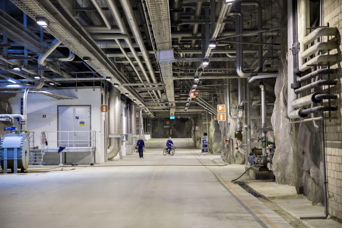 Viikinmäen jätevedenpuhdistamo Helsingissä