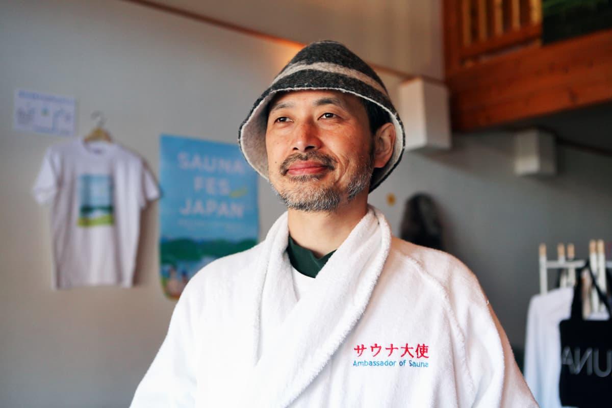 Sauna-aiheisia teoksia kirjoittanut Katsuki Tanaka on nimetty Japanissa saunan suurlähettilääksi.