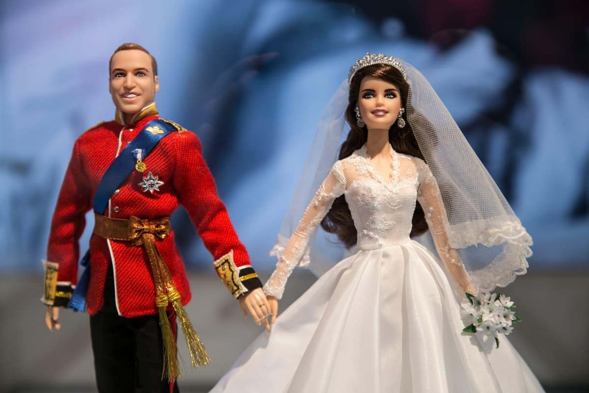 Barbie, William, Kate