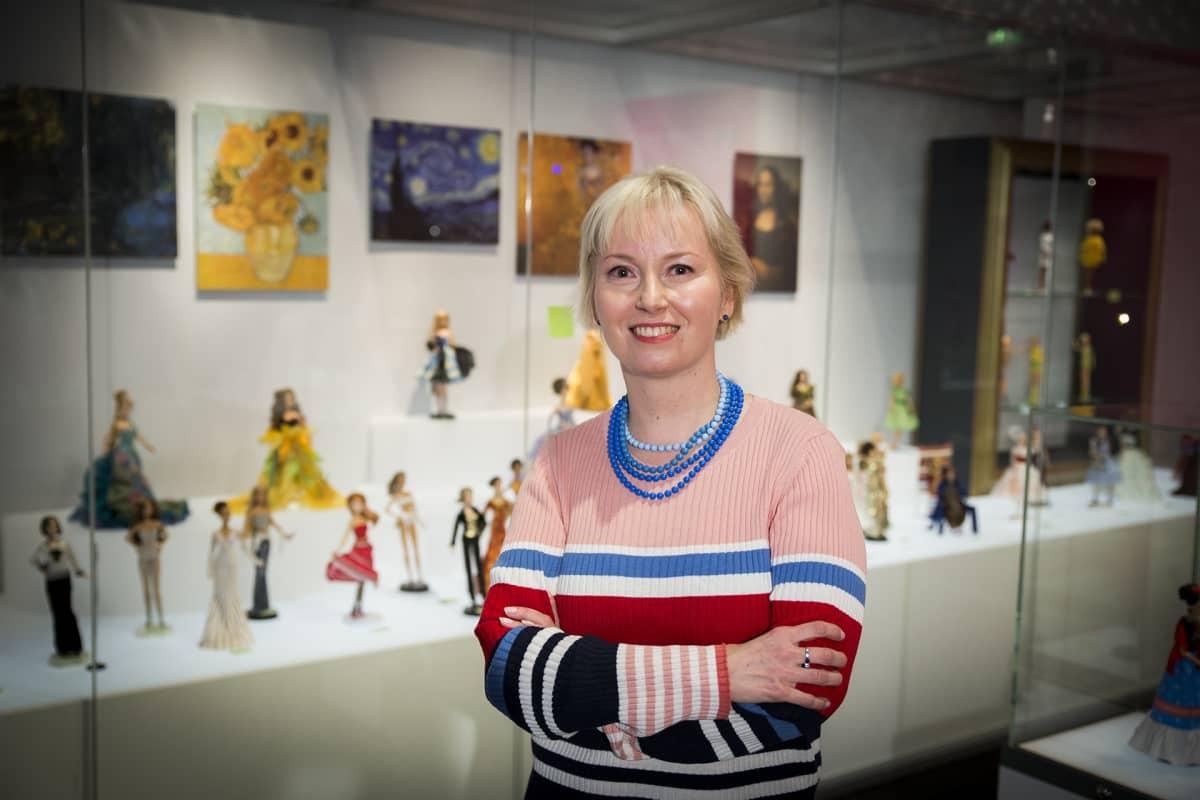 Minerva Keltanen, Kansallismuseo, Barbie