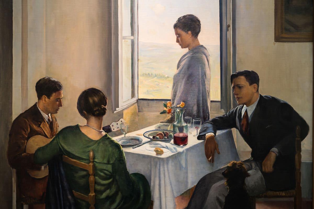 Fantastico Italialaista taidetta 1920- ja 1930 -luvuilta -näyttely