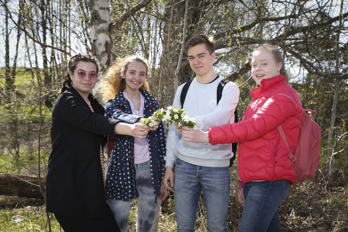 Aileen Melinda, Vita Davydova, Matias Varjonen, Oona Piekkala