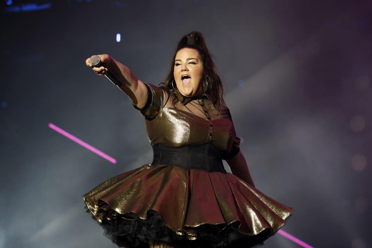 Euroviisut voittanut israelilainen Netta Barzilai.