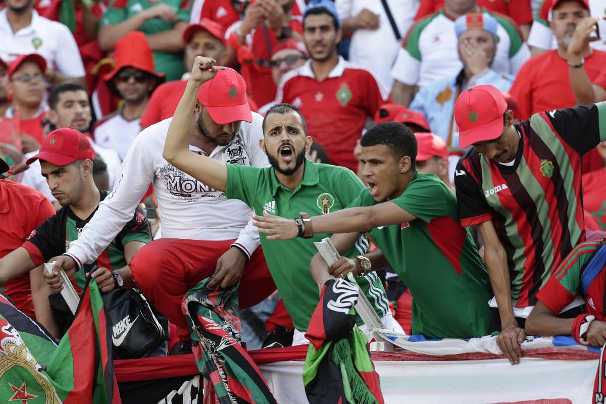 Marokon kannattajia