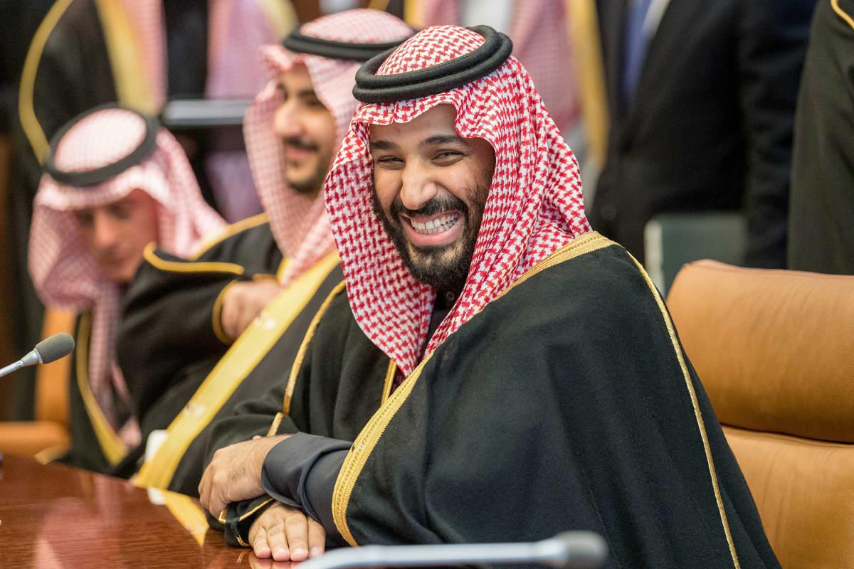 Crown Prince Mohammad bin Salman bin Abdulaziz Al Saud of Saudi Arabia