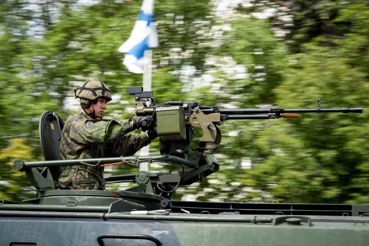 Puolustusvoimain lippujuhlan päivän juhla Seinäjoella 4.6.2018