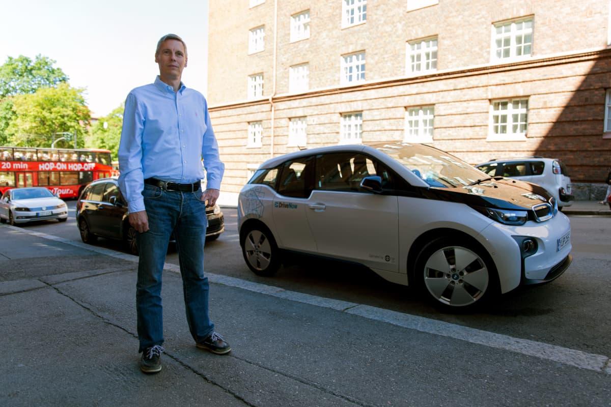 Timo Valtonen, DriveNow Finlandin liiketoimintajohtaja