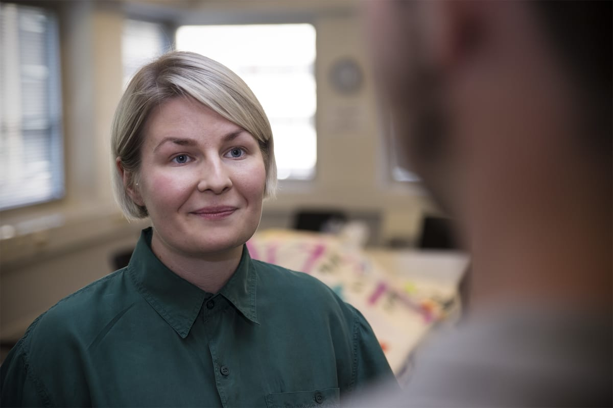 Aleksina Tikkinen, seniorityön projektityöntekijä, Seta.