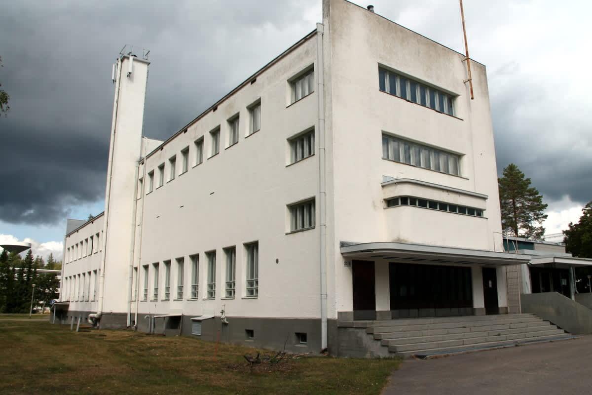 Kaakkois-Suomen rajavartioston vanha ruokala Immolassa.