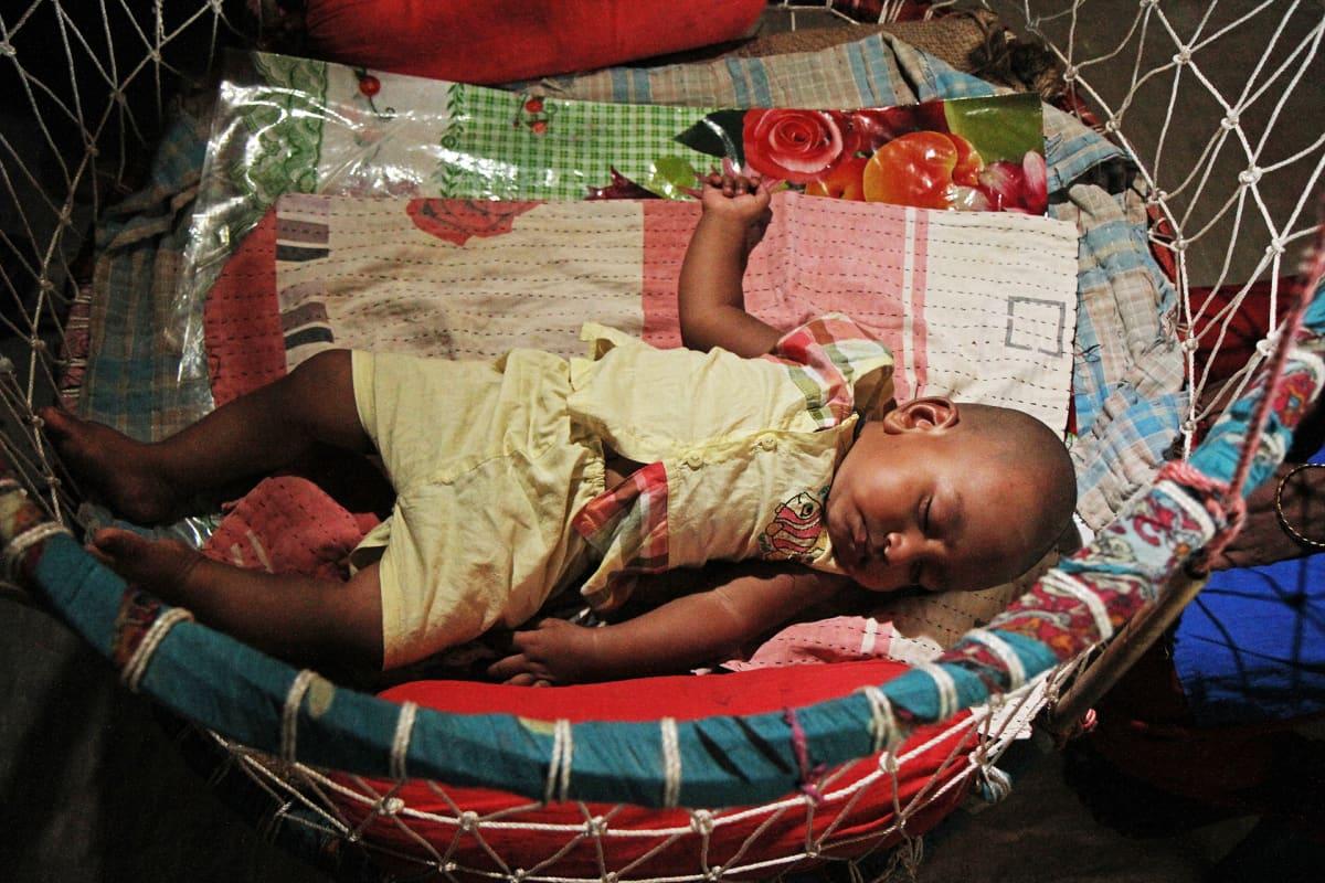 Khaleda Aktarin vauva.