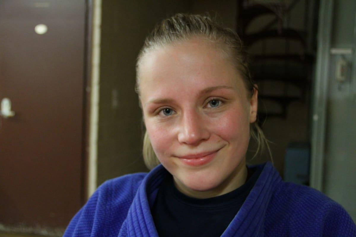 Katri Kakko on palannut takaisin judon kilpakentille ja tähtää olympiakisoihin.