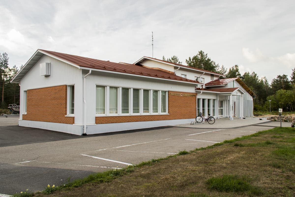 Hailuodon kunnanvirasto.