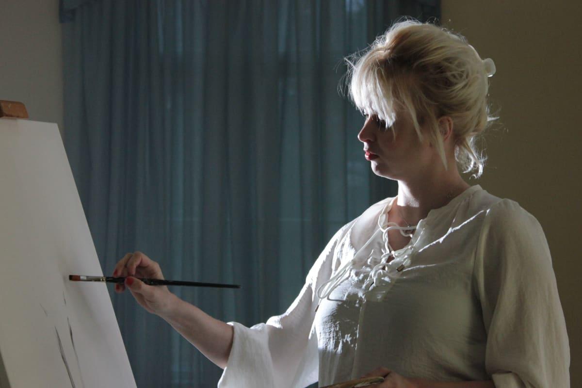 Marissa Jaakola Takaisin valoon, Marissa maalaa