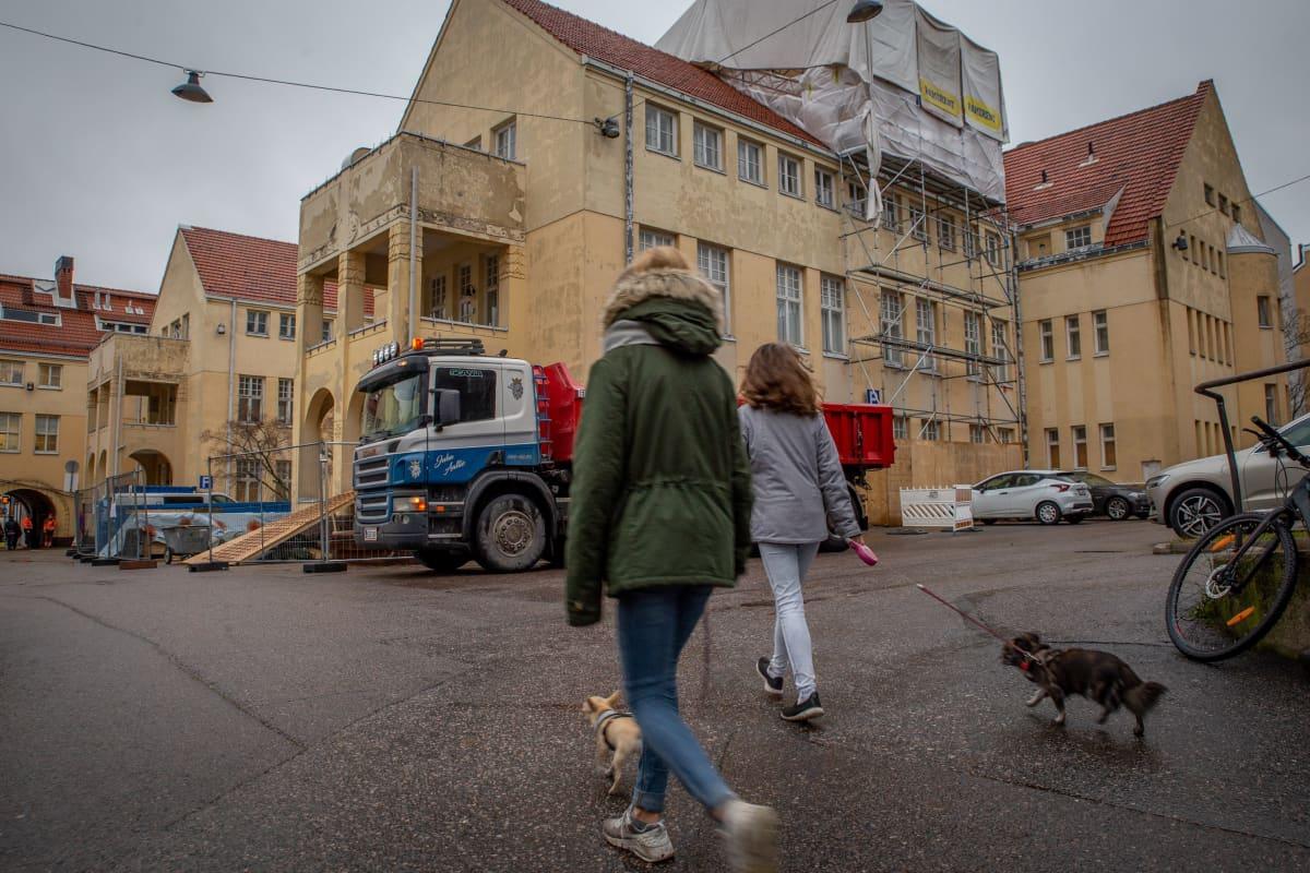 marian vanha sairaala-alue