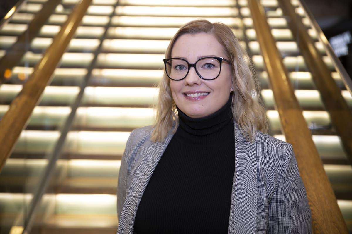 Itiksen kauppakeskusjohtajan Johanna Haltian mielestä on tärkeintä, että kaupunki ja kauppakeskus tekevät yhteistyössä Tallinnan aukiosta viihtyisän paikan.