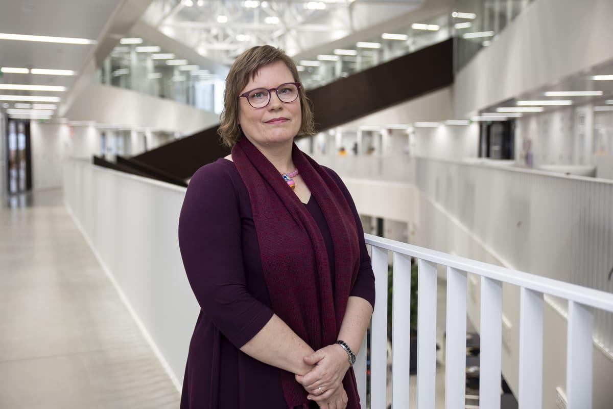 Aalto-yliopiston professori Kirsi Niinimäki