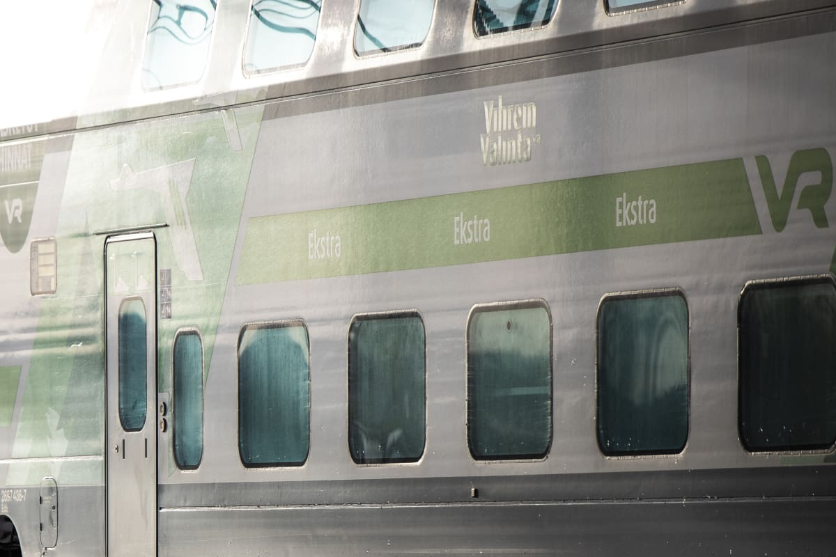 VR junaliikenne joukkoliikenne