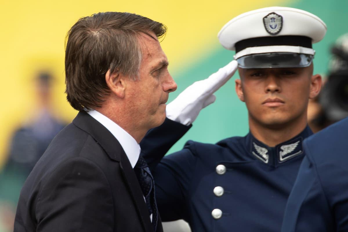 Brasilian presidentti Jair Bolsonaro