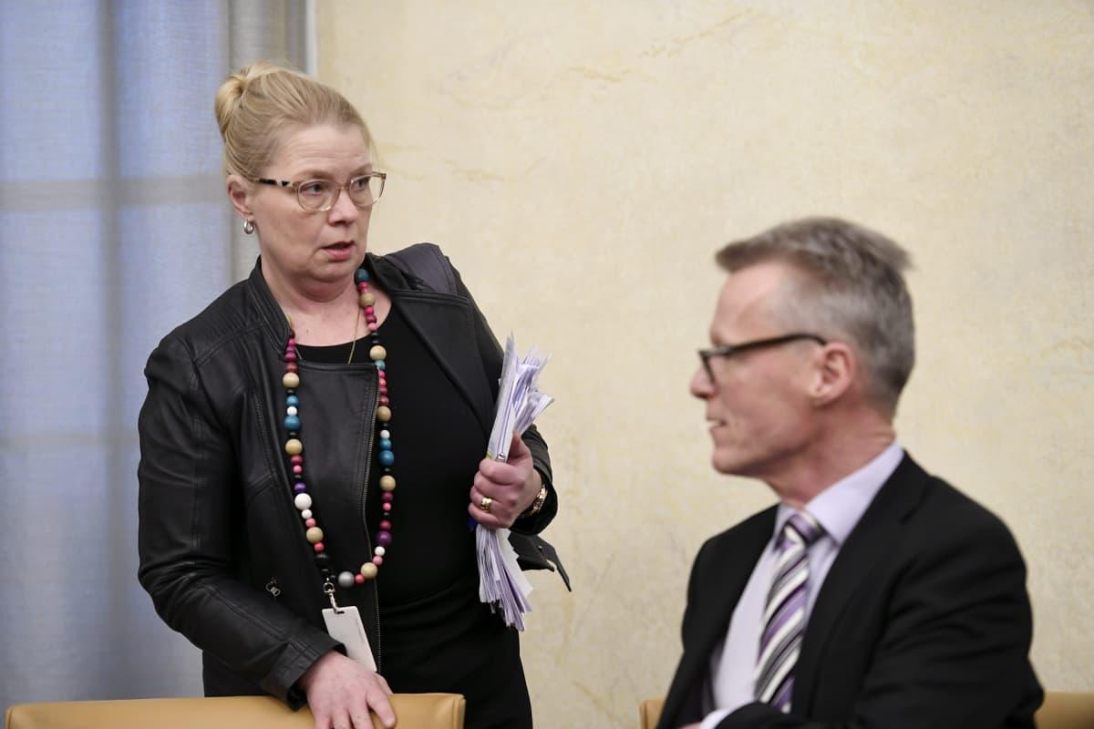 Leena Meri ja Ilkka Kantola.