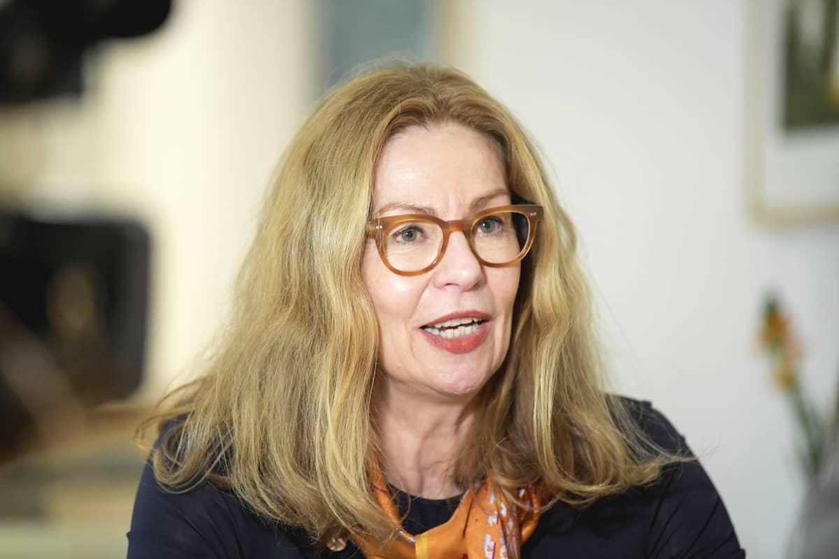 Swedbankin toimitusjohtaja Birgitte Bonnesen