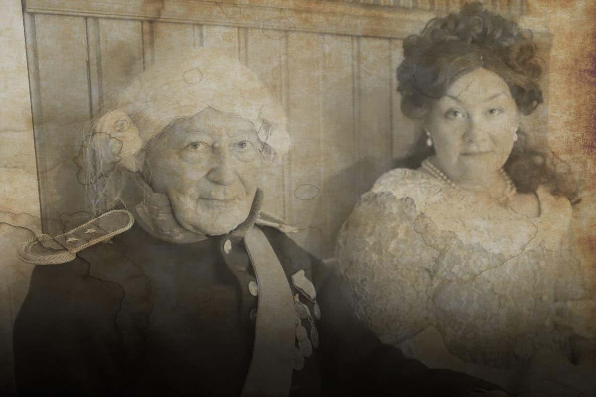 Kapteeni Pegetsu Tevalin ja Ulrika Andersintytär (Pekka Termala ja Kirsi Jaakkola)