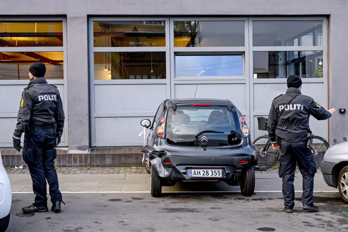 Kööpenhaminalaisia poliiseja.