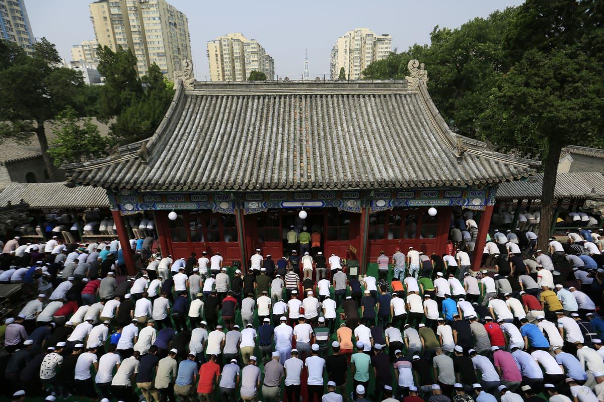 Niujien moskeija Pekingissä.